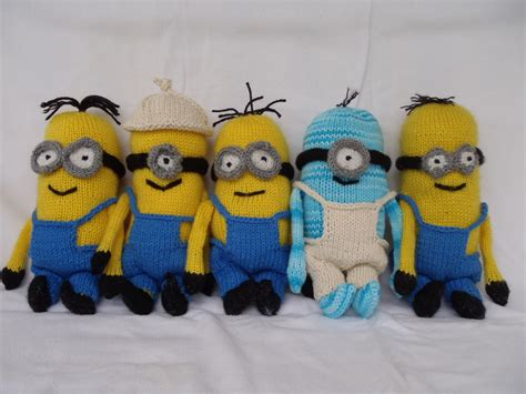 minion knitting pattern stana s critters etc knitting pattern for minions part 2