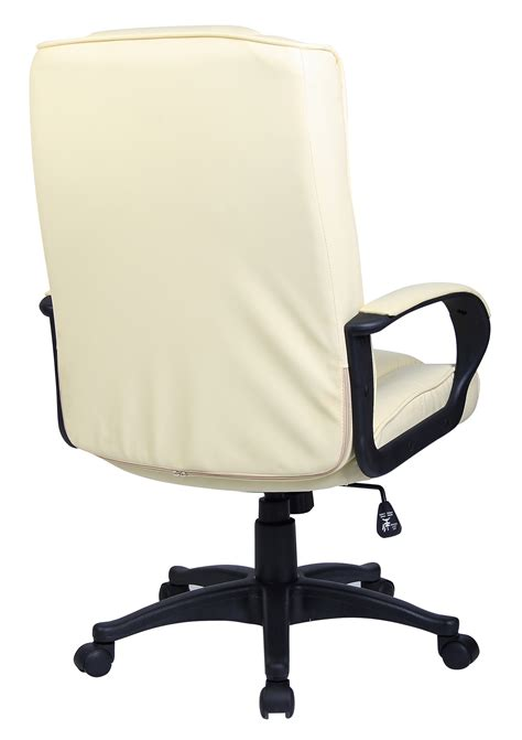 padded desk chair padded pu leather executive swivel office chair