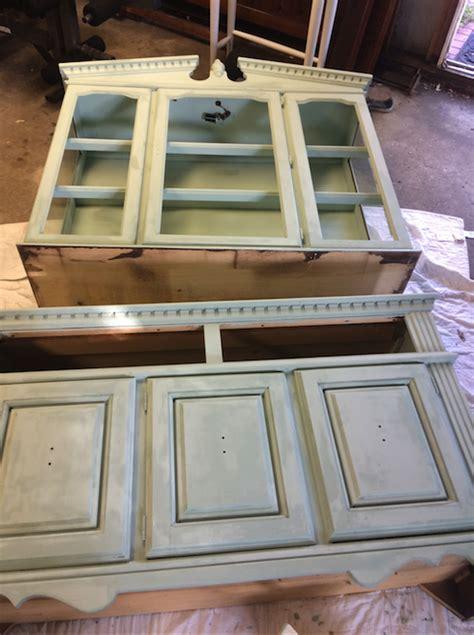 diy vintage chalk paint diy chalk paint vintage hutch tutorial zest