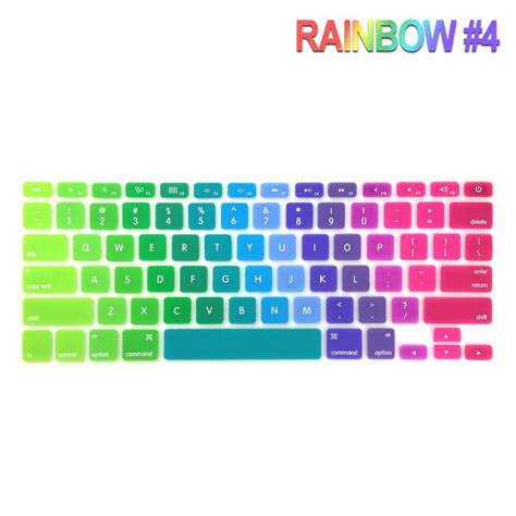 Keyboard Protector 15 4 Inch 95 rainbow silicone keyboard cover protector for apple