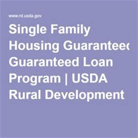 usda single family housing guaranteed loan program 1000 images about buying a house on pinterest first time home buyers closing costs