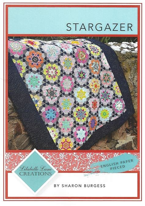 Stargazer Quilt Pattern by Lilabelle Creations Stargazer Pattern And Templates