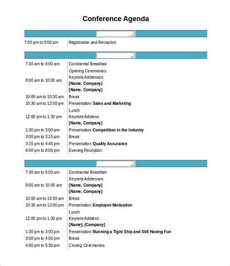 templates for agendas free meeting agenda template 46 free word pdf documents