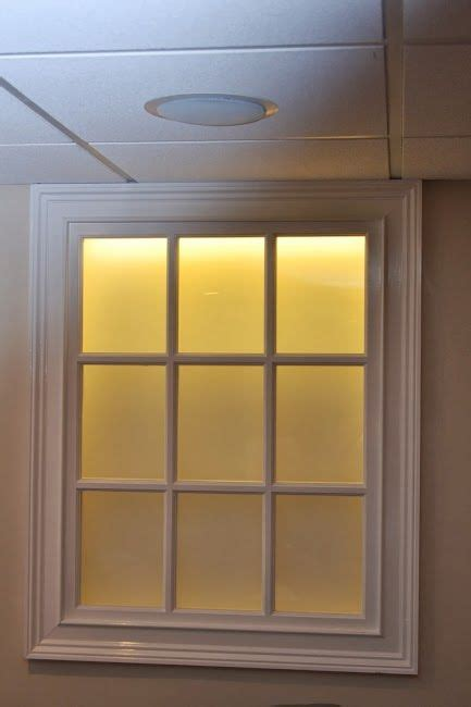 artificial windows for basement 25 best ideas about faux window on pinterest fake