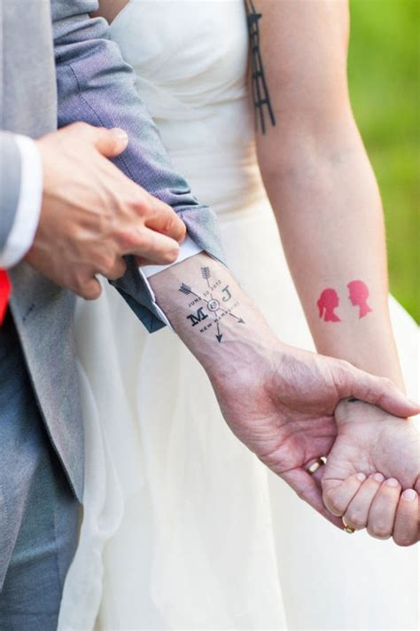 tattoos married couples designs matching married couples