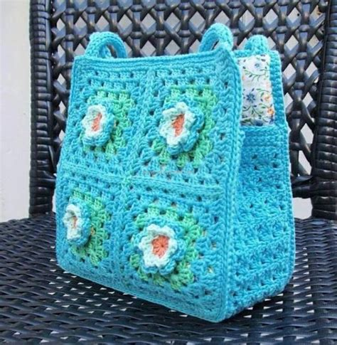 50 crochet bag patterns upcycle