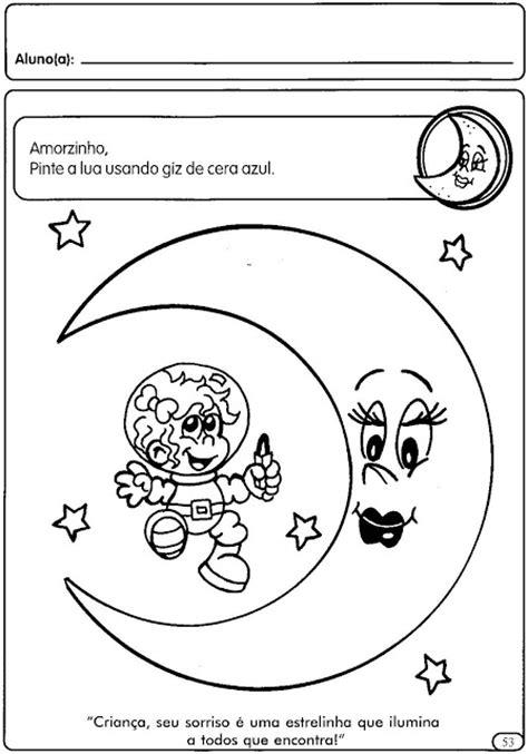 Atividades para colorir infantil: Atividades sobre o dia e