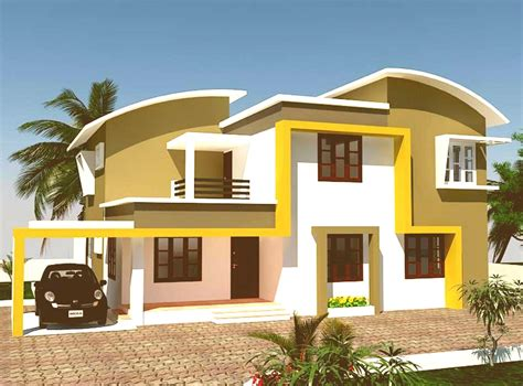 house paint design home painting outside in kerala home painting