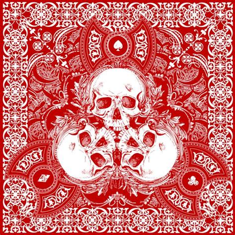 skull bandana tattoo designs headwear on bandanas skulls and harley