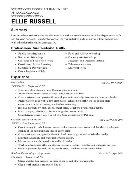 sandwich maker resume best cashier sandwich maker resumes resumehelp