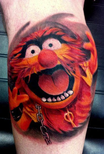 muppet tattoo animal by piercy muppets wouldn t get it