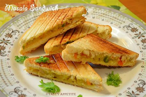 how to make grilled masala sandwich indian style
