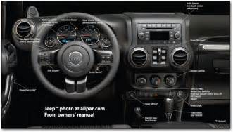 Jeep Wrangler Dash Jeep 2011