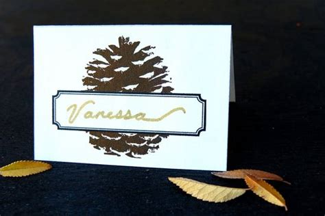 Thanksgiving Place Card Holder Templates by 17 Thanksgiving Day Place Cards Tip Junkie