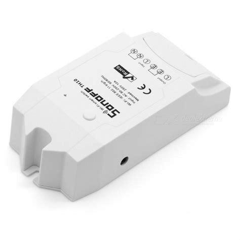 Waterproof Ds18b20 Temperature Sensor For Sonoff Th sonoff th10 10a wi fi smart switch module wireless switch