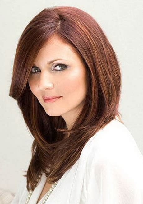 rounded layer haircuts long hair layered haircuts for round faces