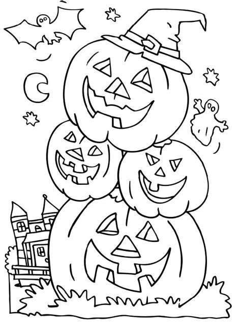 halloween birthday coloring page spooky halloween coloring pages az coloring pages