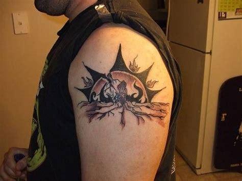 95 mond und sonne tattoos