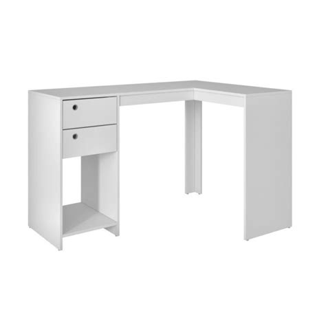 Computer Desk 50 by Manhattan Comfort Palermo 50 39 Quot L Shaped Computer Desk In