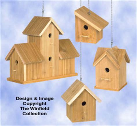 The Winfield Collection Cedar Bird House Plans 3 Cedar Bird House Plans