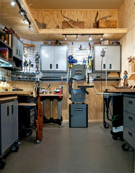 garage workshop design wood carver s workshop
