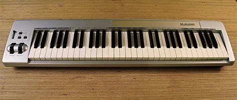 format audio untuk keyboard m audio keystation 61es image 283463 audiofanzine