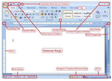 tutorial powerpoint bahasa indonesia panduan dasar ms word terlengkap dan terbaru 2016 cermatku