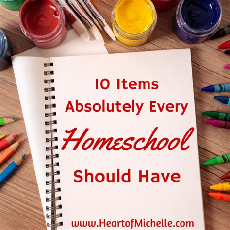 items every home should have 10 items absolutely every homeschool should have