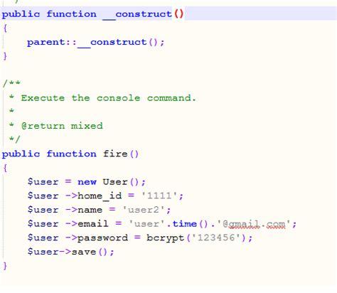 tutorial commandline laravel windows laravel schedule command does not work stack