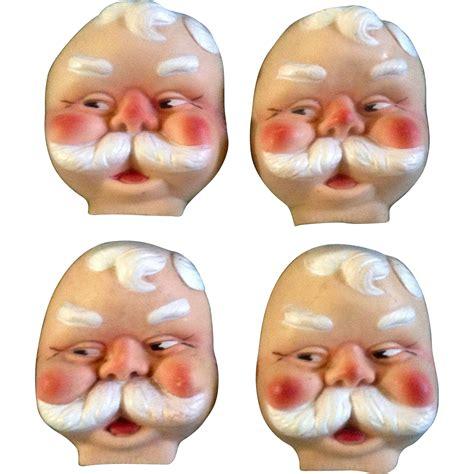 rubber st faces doll accessories santa claus st nicholas 1966