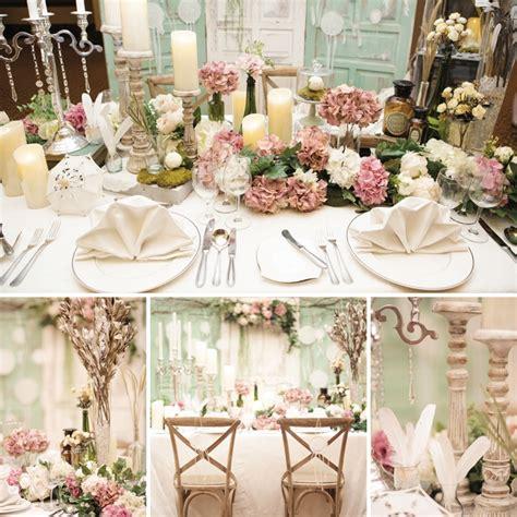 Tempat Penyimpanan Pulpen Unik Unique Bunga Floral Flower Shabby Chic dekorasi pesta pernikahan ala pedesaan prancis yang romantis weddingku
