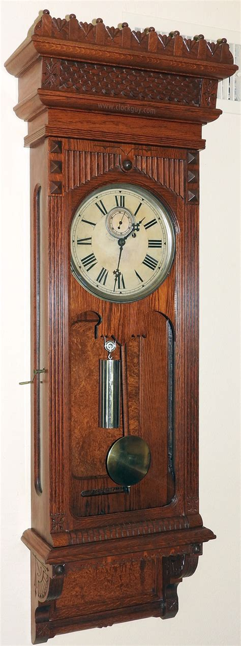 A Story L For Sale by William L Gilbert Clock Company Antique Clocks Antique Clocks And Mechanical Musical