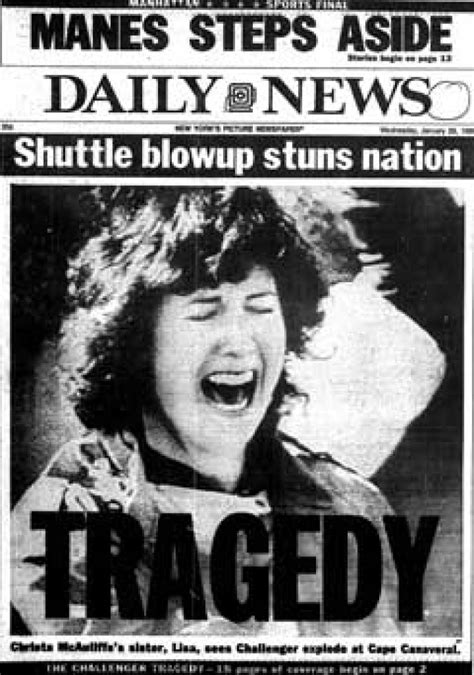 what year did the challenger up challenger explosion look back at the news 1986 report