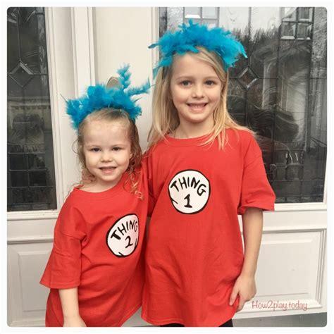 diy thing 1 and thing 2 costume thing 1 and thing 2 costumes diy www pixshark
