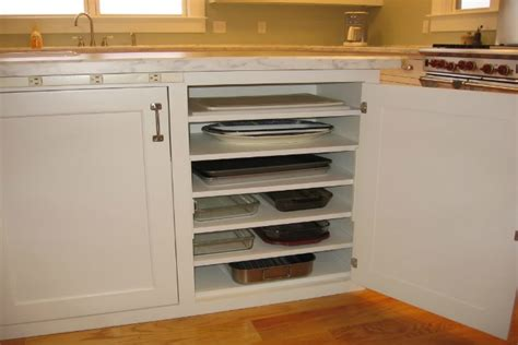 baking pan storage 10 super clever kitchen storage ideas