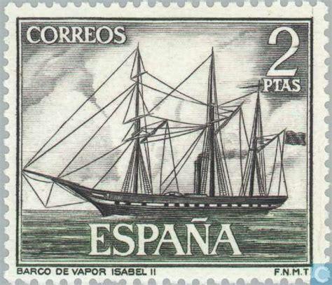 barco de vapor informacion barco de vapor isabel ii 1964 sellos espa 241 a 1850 2018