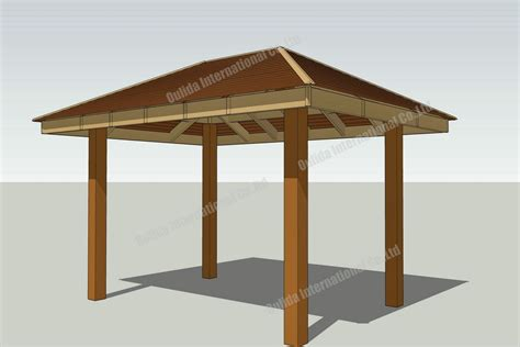 gazebo plans  wooden gazebo kits pinterest
