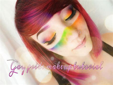 Makeup Tutorial Queer | gay pride festival makeup tutorial youtube
