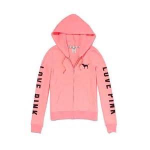 Ownza perfect zip hoodie pink victorias secret thisnext