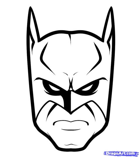 Easy To Draw by How To Draw Batman Easy Step By Step Dc Comics Comics