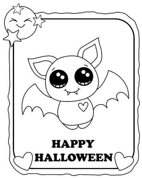 Desenhos de Halloween para colorir imprimir | WONDER DAY