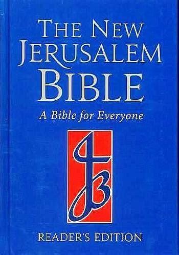 the new jerusalem books new jerusalem bible readers edition modern catholic