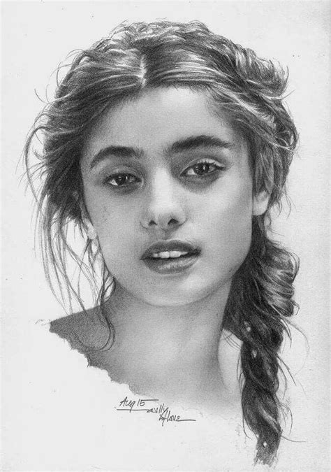 Sketches Realistic by Pencil Portrait Mastery Discover The Secrets Of