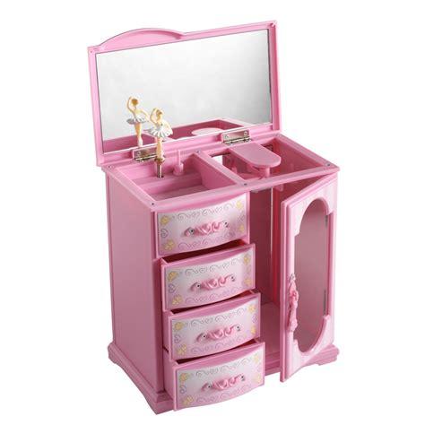 mele co children s upright pink jewelry box jewelry