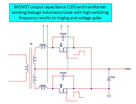 inductor leakage energy snubber circuit design