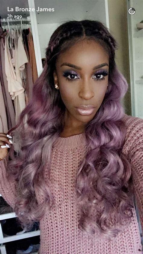 purple weave on black women best 25 purple weave hair ideas on pinterest gray hair