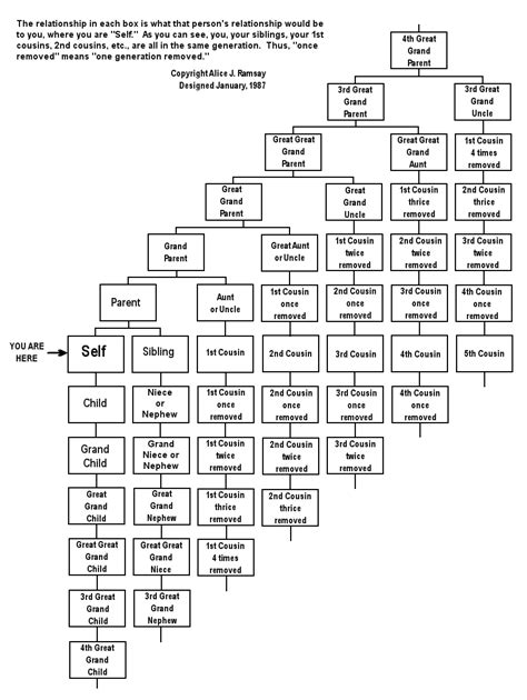 office relationship chart how to make sense of your family in one chart chart