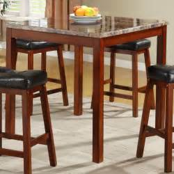 homelegance achillea 5 counter height table set w
