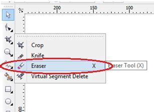gambar tool pattern pada corel draw tutorial memotong foto gambar menggunakan eraser tool pada