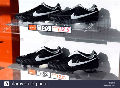 nike football shoes shopping nike footwear football boots soccer shoes window display